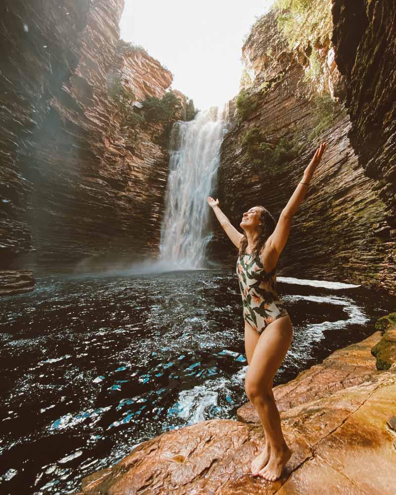 cachoeira do buracão ibicoara