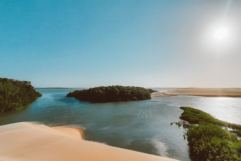 dunas delta do parnaíba