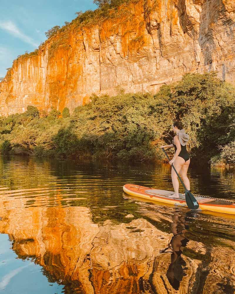 SUP no Rio Paraguaçu