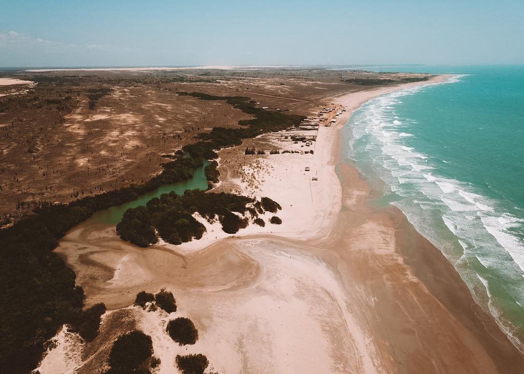 praia do arrombado piauí