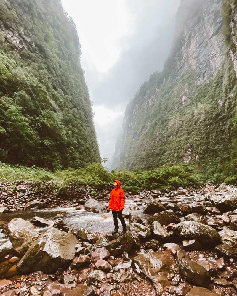 trilha do rio do boi canions do sul