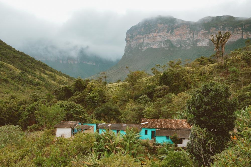 Casa de Dona Raquel no Vale do Pati