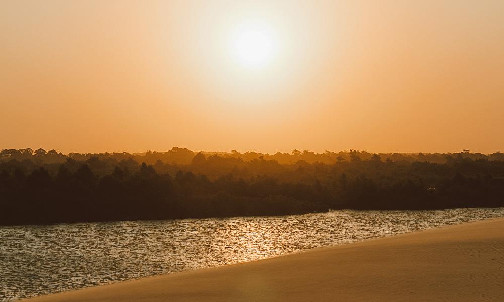 por do sol ilha das canárias