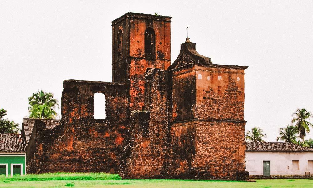 ruínas de Alcântara no Maranhão