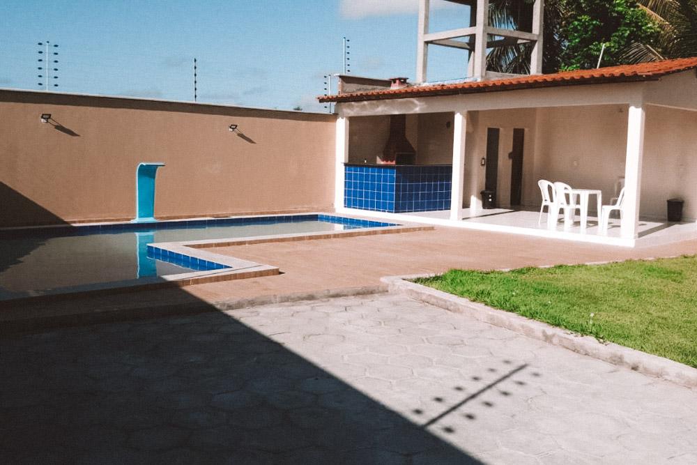 casa com piscina em santo amaro do maranhão